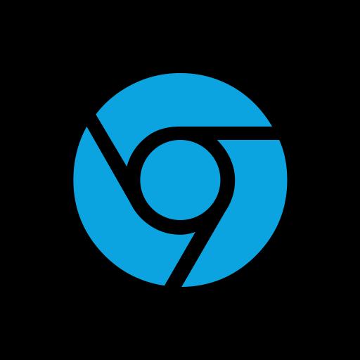 Online, Social, Chrome Icon