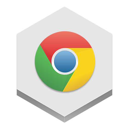 Chrome Icon Hex Iconset