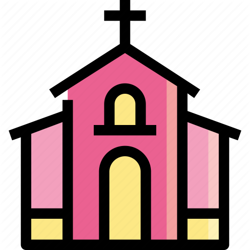 Building, Chapel, Christian, Church, Temple Icon