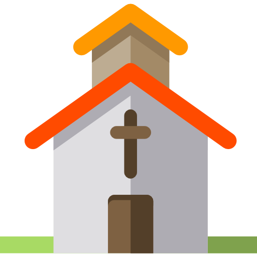 Chapel, Christian, Cultures, Church, Religion, Temple, Buildings Icon