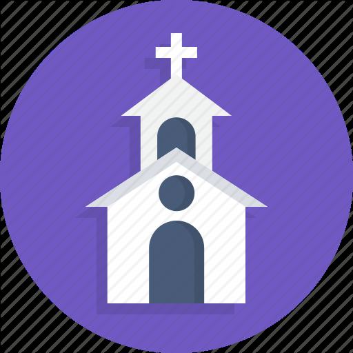 Church, Heart, Love, Marriage, Wedding Icon