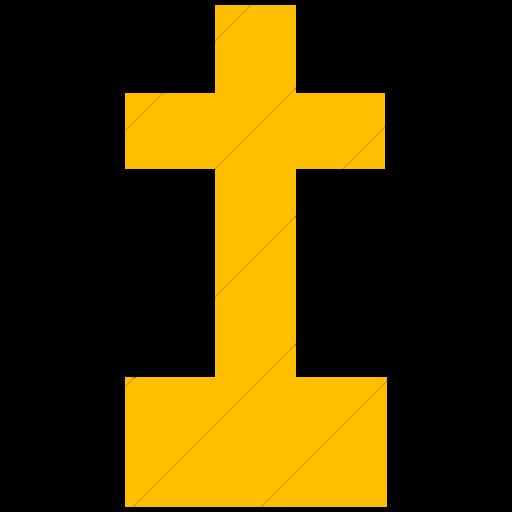 Simple Yellow Ocha Humanitarians Infrastructure Church Icon