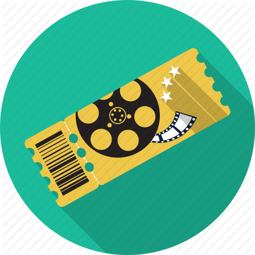 Cinema, Cupon, Entertainment, Film, Movie, Theatre, Ticket Icon