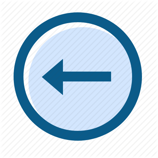 Arrow, Circle, Directions, Filled, Left, Line, Long Icon