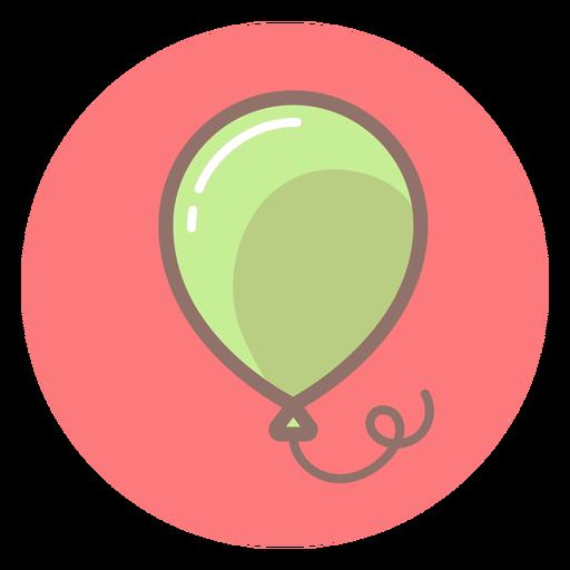 Baby Balloon Circle Icon