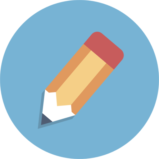 Circle Icons Pencil