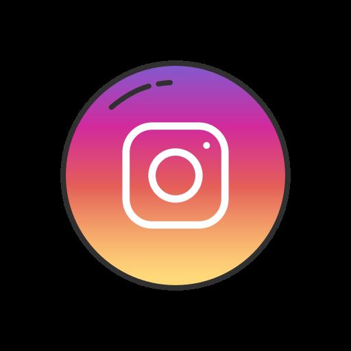 Instagram, Circle Icon Free Of Popular Social Media