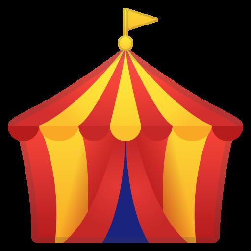 Circus Tent Icon Noto Emoji Travel Places Iconset Google