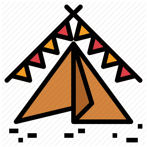 Camp Vector Festival Tent Transparent Png Clipart Free Download