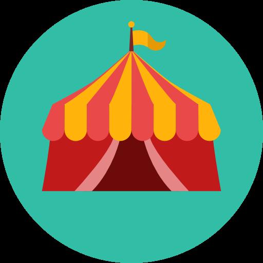 Circus, Tent, Entertainment, Leisure, Entertaining Icon