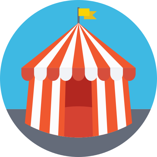Circus Tent Png Icon