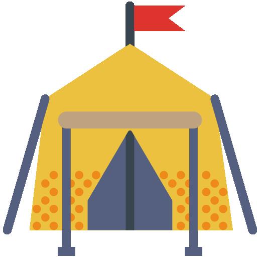 Tent Icon Outdoors Smashicons