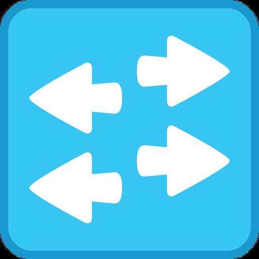 Stencil, Layer Networking, Workgroup, Cisco, Visio, Switch Icon