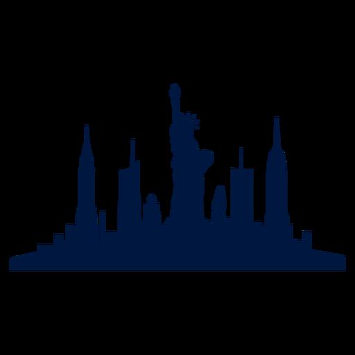 New York City Png Skyline Transparent New York City Skyline