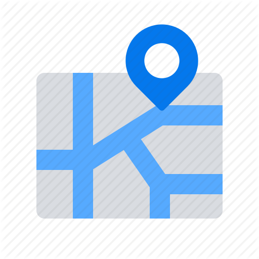 Address, City, Map, Pin, Town Icon