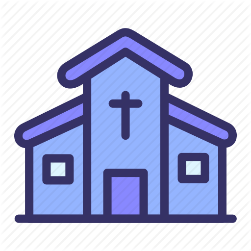 Building, Church, City, Cityscape Icon