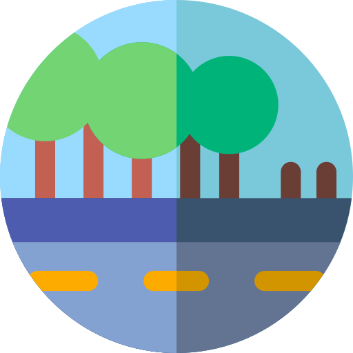 Road Path Png Icon