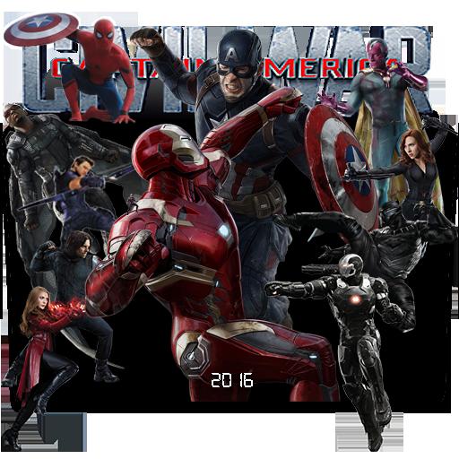 Captain America Civil War Folder