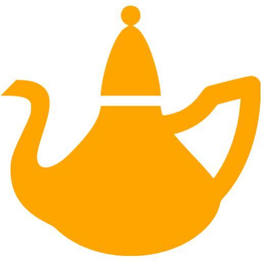 Orange Kettle Icon