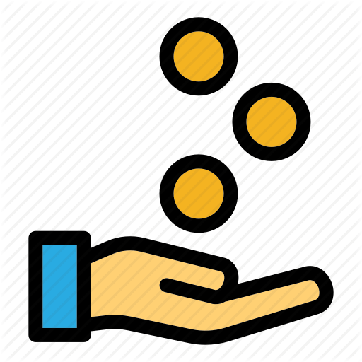 Claim, Financial, Hand Gesture, Money, Refund Icon