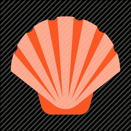 Clam, Ocean, Oyster, Seafood, Seashell, Shell, Shellfish Icon
