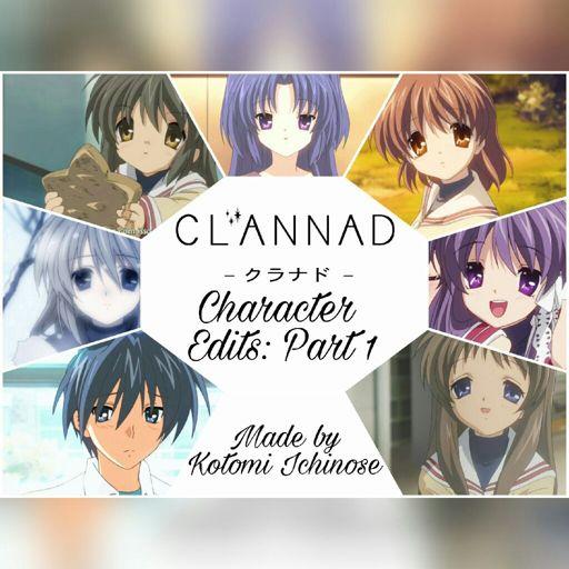 Clannad Character Edits