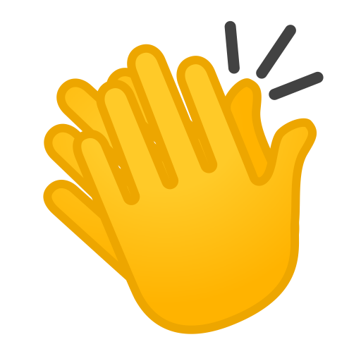 Clapping Hands Icon Noto Emoji People Bodyparts Iconset Google