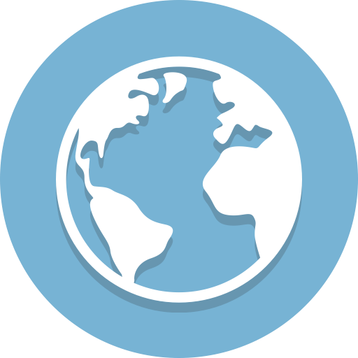 Global, Earth, Globe Icon