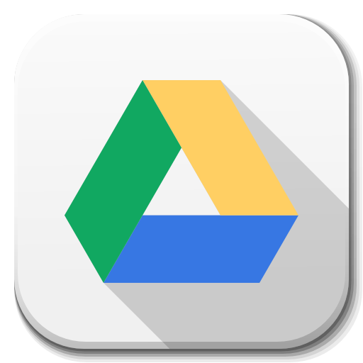 Apps Google Drive Icon Flatwoken Iconset Alecive Apps Icon