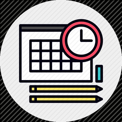 Classes, Schedule, School, Timetable Icon
