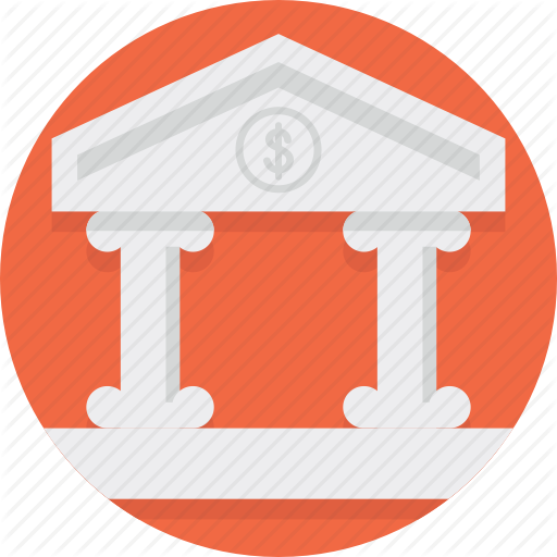 Bank, Banking, Building, Classic, Column, Finance Icon