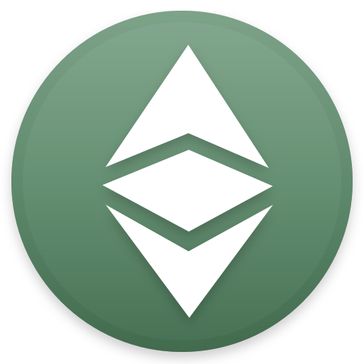 Ethereum Classic Icon Cryptocurrency Iconset Christopher Downer