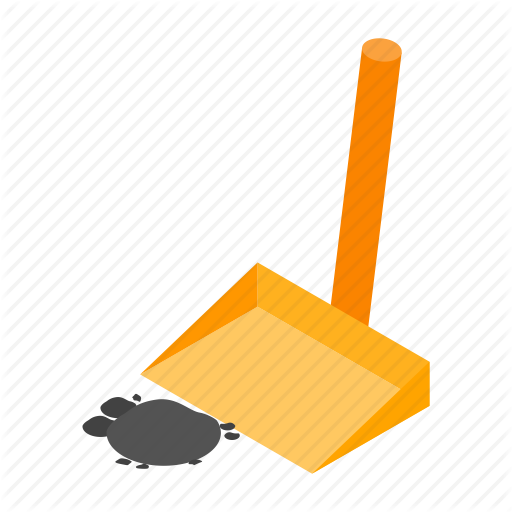 Clean, Cleanup, Dustpan, Household, Isometric, Plastic, Squeegee Icon