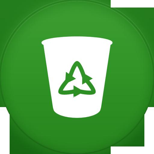 Delete Empty Recycle Bin Trashcan Erase Garbage Icon