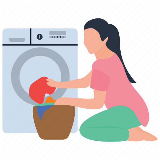 Cloth Cleaning, Dirty Laundry, Dry Machine, Laundry, Washing