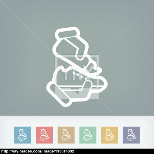 Shoe Cleaning Vector