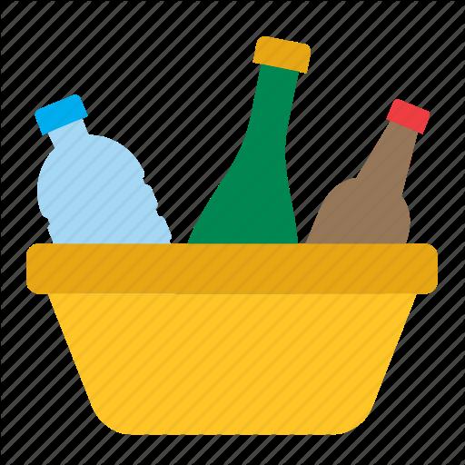 Basket, Bottle, Cleaning, Housekeeping, Housework, Recycle