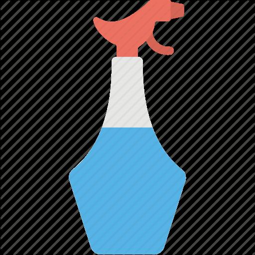 Cleaning Supplies, Half Filled Liquid Bottle, Liquid Bottle, Spray