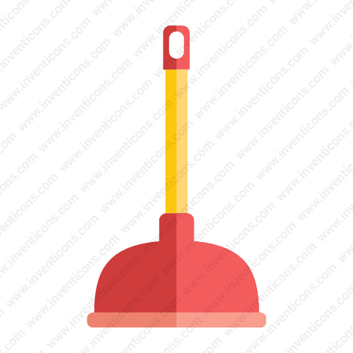 Download Plunger,toile Plunger Icon Inventicons