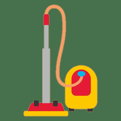 Silhouette Black White Vacuum Cleaner