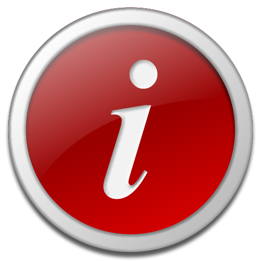 Clear Information Icon