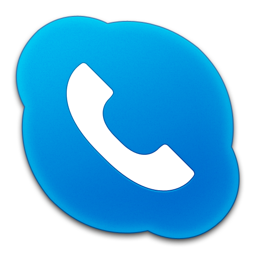 Blue Mobile Icon Images