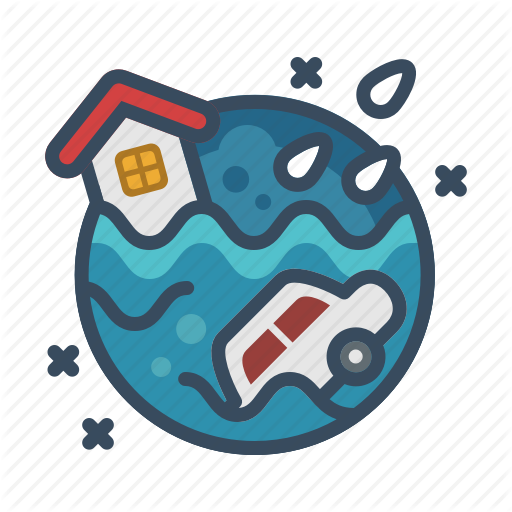 Climate, Disaster, Flood, Flooding, Floods, Storm, Weather Icon