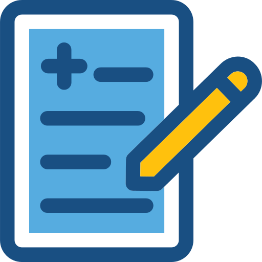 Clinic History Clipboard Png Icon