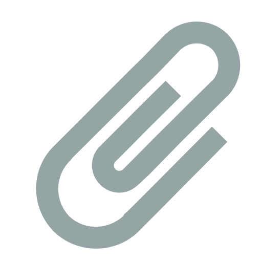 Paperclip Icon Small Flat Iconset Paomedia