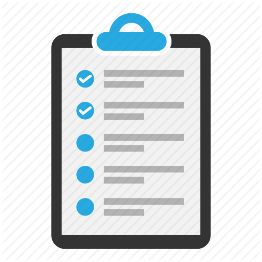 Checklist, Clipboard, Content, Document, Task, Text, Tick Icon