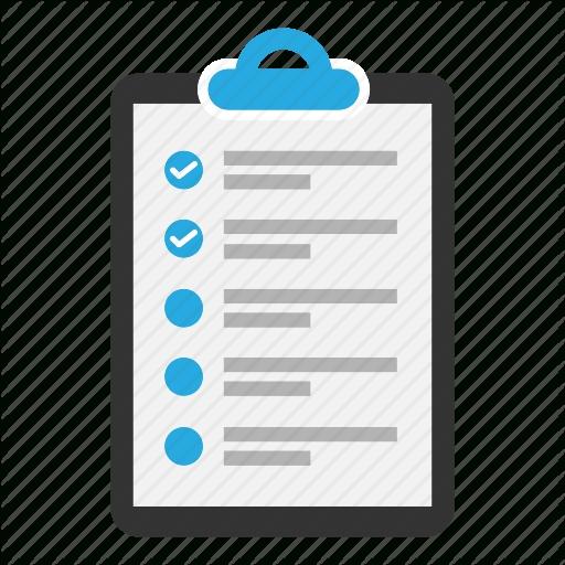 Clipboard Checklist Png