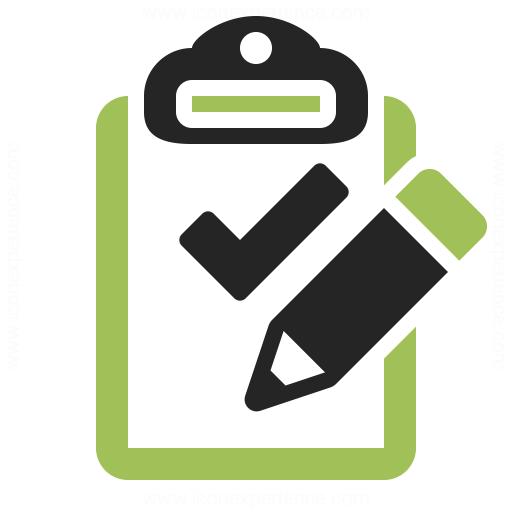Clipboard Check Edit Icon Iconexperience