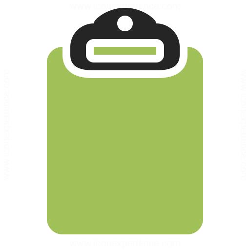 Clipboard Empty Icon Iconexperience