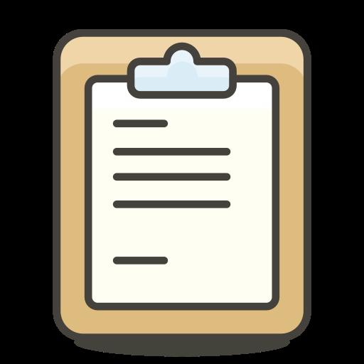 Clipboard Icon Free Of Free Vector Emoji